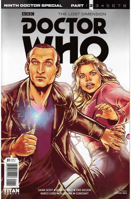 Doctor Who 9th Doctor Year Two #1 Cover A [Titan Comic]