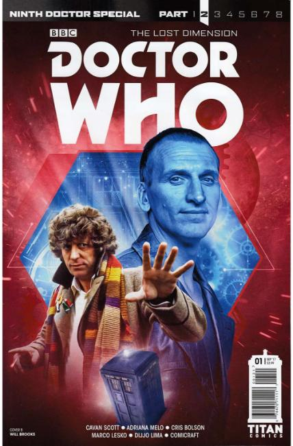 Doctor Who 9th Doctor Year Two #1 Cover B [Titan Comic]