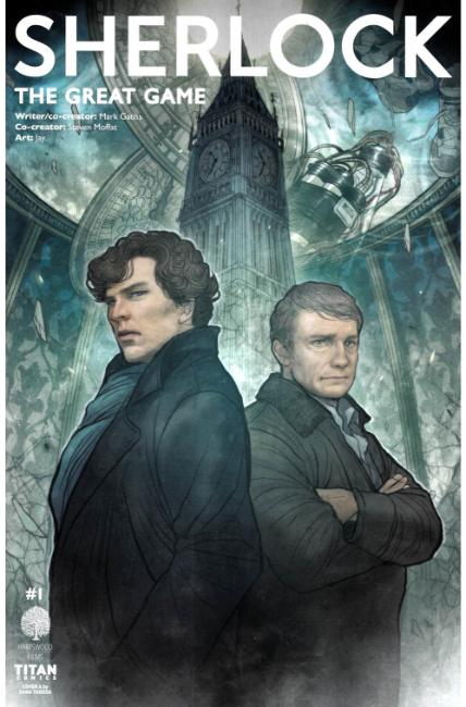 Sherlock the Great Game #1 Cover A [Titan Comic] LARGE
