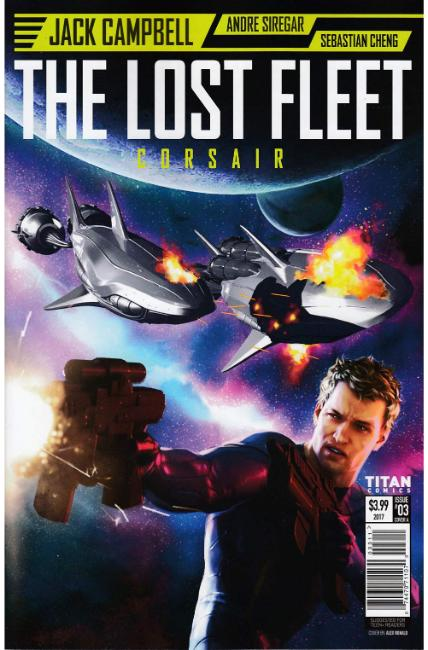 Lost Fleet Corsair #3 Cover A [Titan Comic]