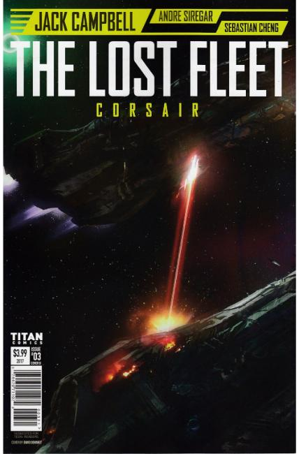 Lost Fleet Corsair #3 Cover B [Titan Comic]
