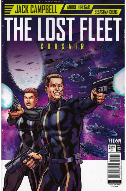 Lost Fleet Corsair #3 Cover C [Titan Comic]