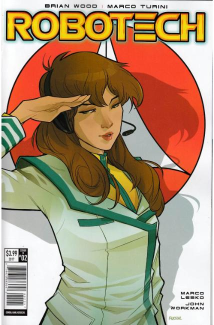 Robotech #2 Cover B [Titan Comic] LARGE