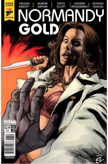 Normandy Gold #3 Cover B [Titan Comic] THUMBNAIL