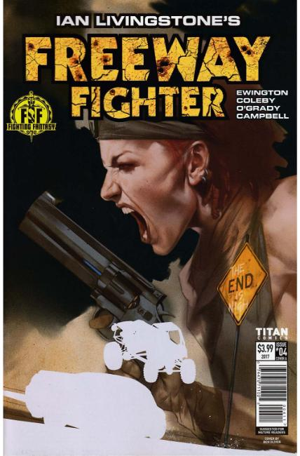 Ian Livingstones Freeway Fighter #4 Cover A [Titan Comic]_THUMBNAIL