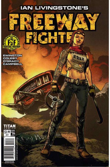 Ian Livingstones Freeway Fighter #4 Cover C [Titan Comic]_THUMBNAIL