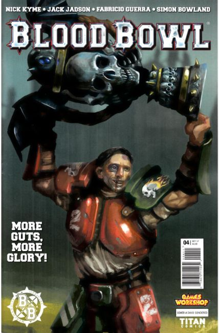 Blood Bowl More Guts More Glory #4 Cover A [Titan Comic] LARGE