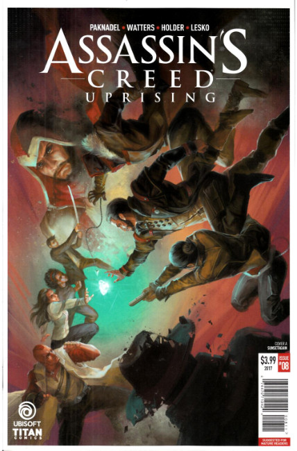 Assassins Creed Uprising #8 Cover A [Titan Comic]