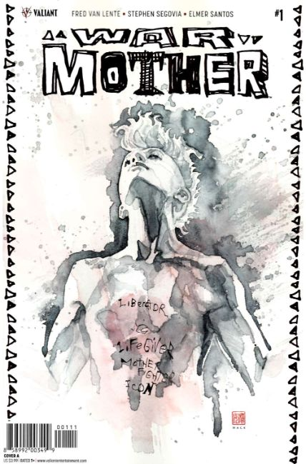 War Mother #1 Cover A [Valiant Comic]