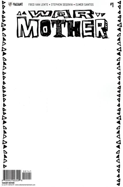 War Mother #1 Cover D- Blank [Valiant Comic] THUMBNAIL