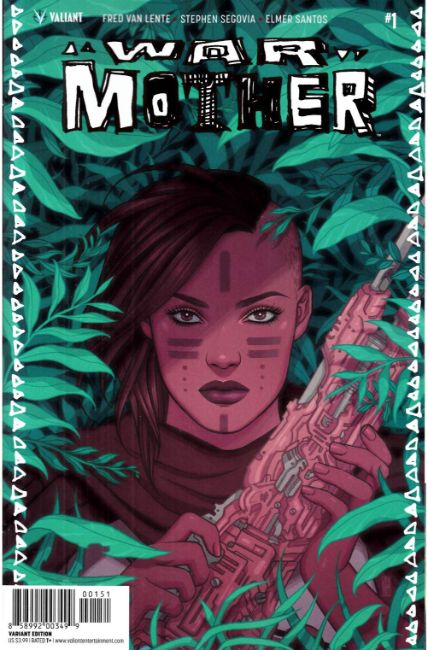 War Mother #1 Cover E- Bartel Variant [Valiant Comic] THUMBNAIL