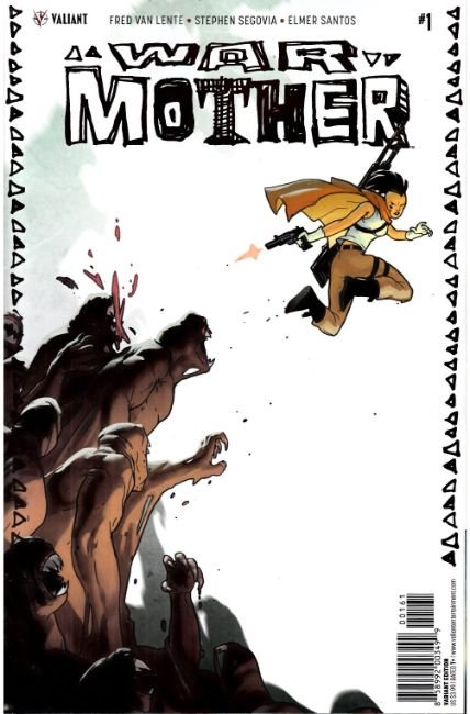 War Mother #1 Cover F- Palosz Variant [Valiant Comic]
