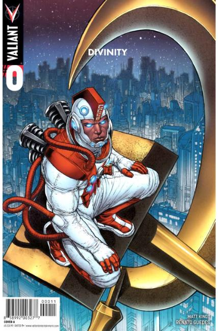 Divinity #0 Cover A [Valiant Comic] THUMBNAIL