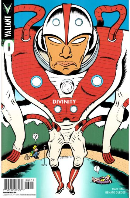 Divinity #0 Cover E- Bagge Variant [Valiant Comic] LARGE