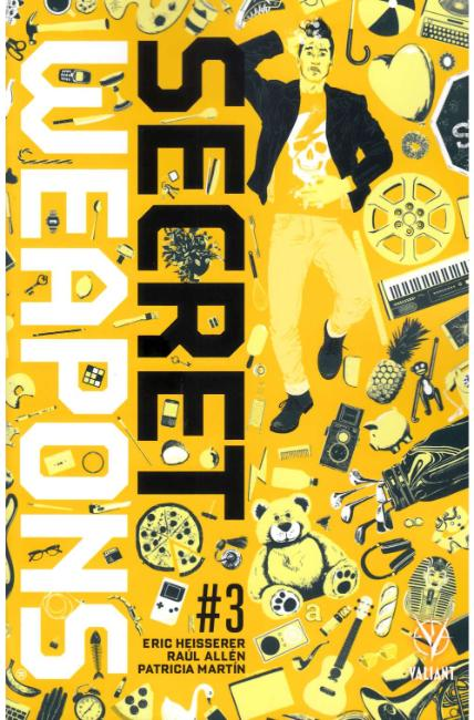 Secret Weapons #3 Cover A [Valiant Comic] LARGE