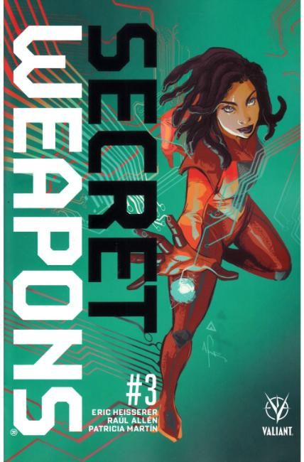 Secret Weapons #3 Cover B [Valiant Comic] THUMBNAIL