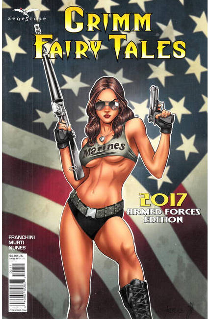 GFT 2017 Armed Forces Appreciation Cover A [Zenescope Comic] THUMBNAIL