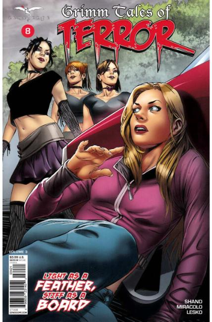 GFT Grimm Tales of Terror Volume 3 #8 Cover B [Zenescope Comic] THUMBNAIL