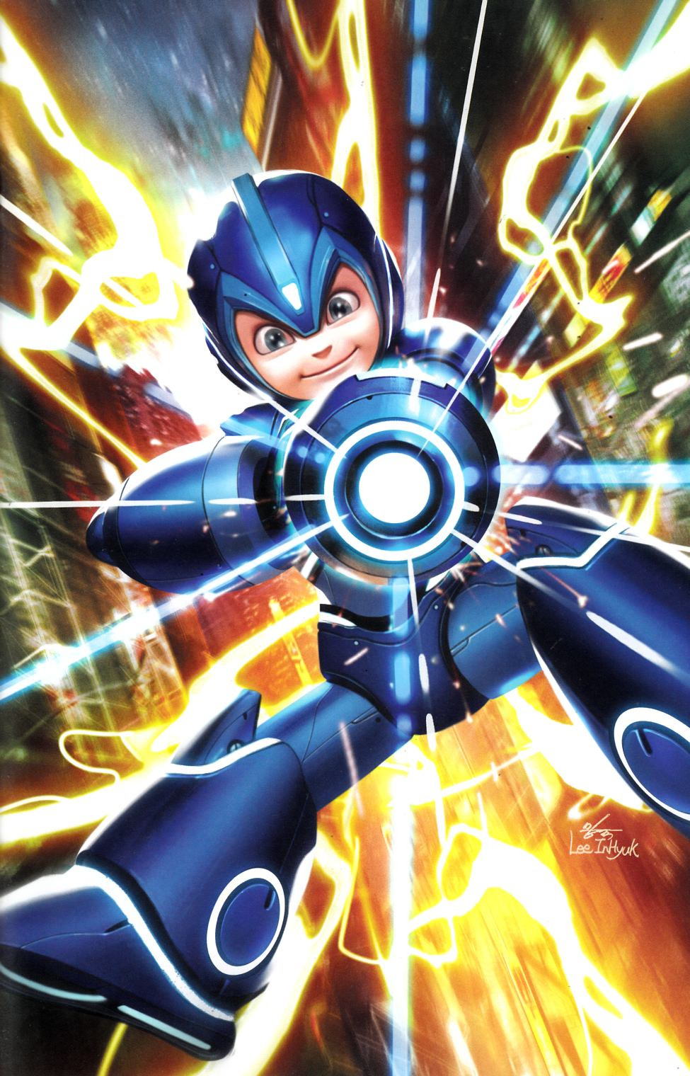Mega Man Fully Charged #1 In-Hyuk Lee Variant Cover Near Mint (9.4) [Boom Comic] THUMBNAIL