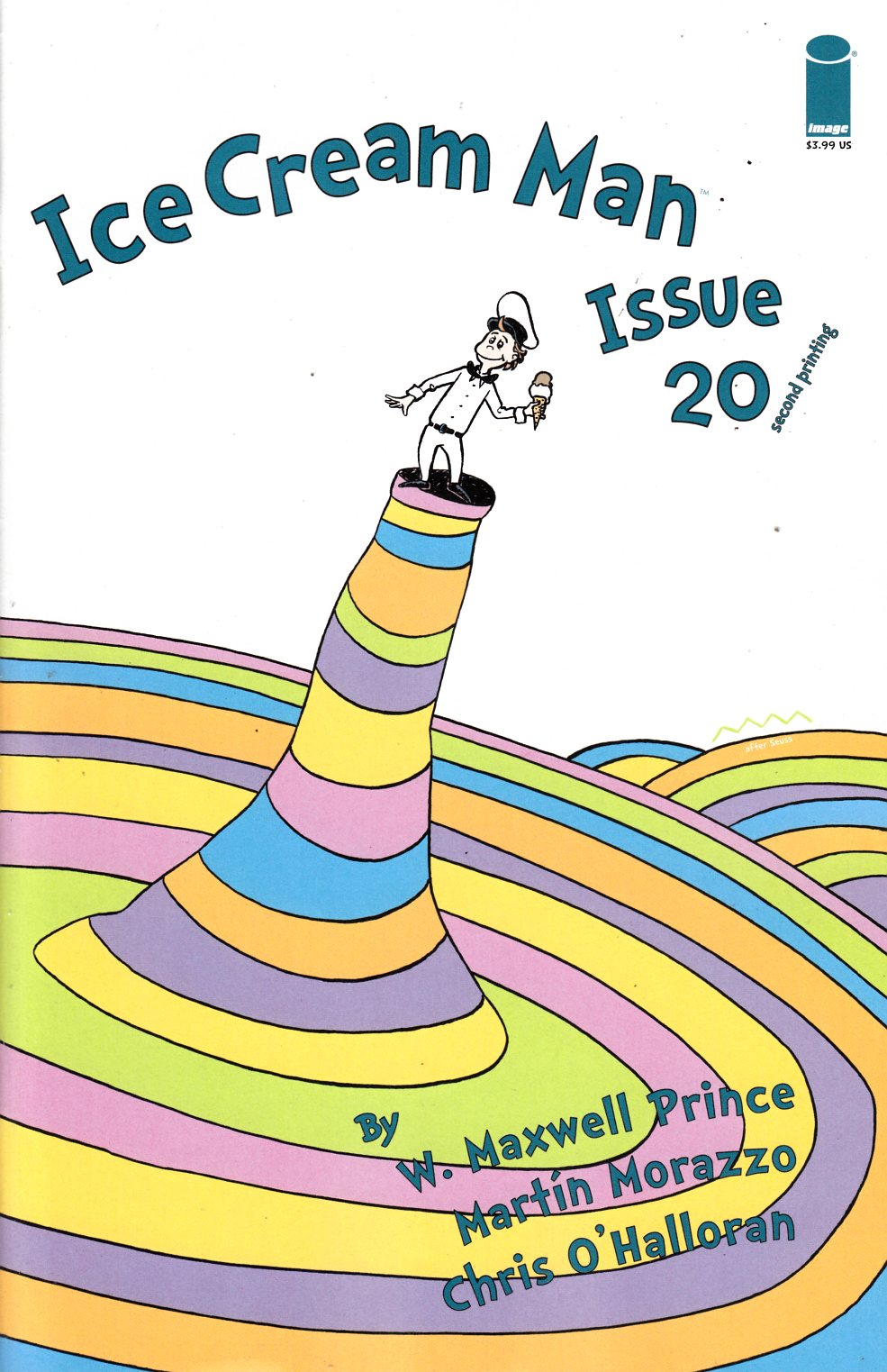 Ice Cream Man #20 Second Printing Near Mint (9.4) [Image Comic] THUMBNAIL