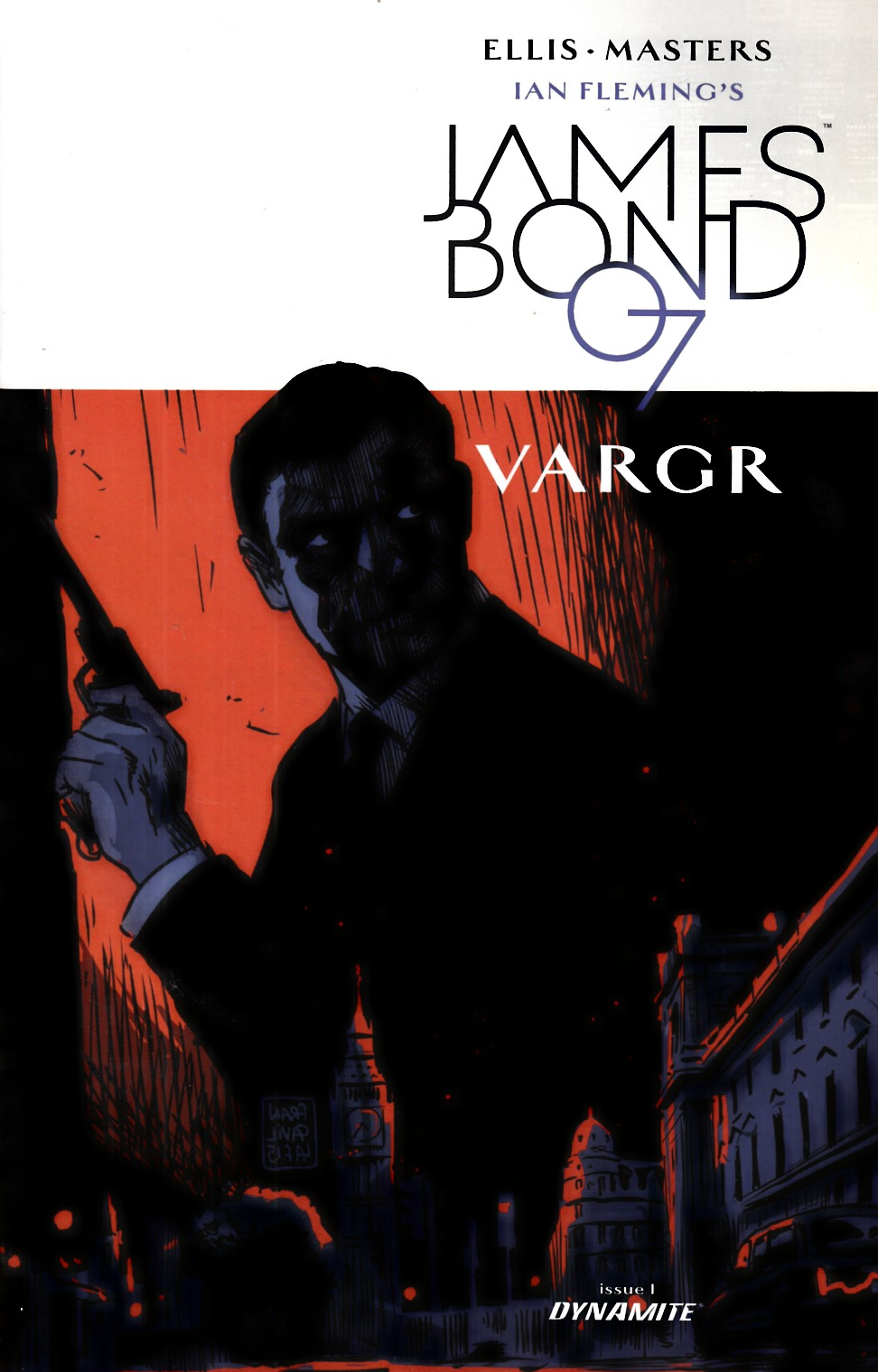 James Bond #1 Cover C- Francavilla [Dynamite Comic]