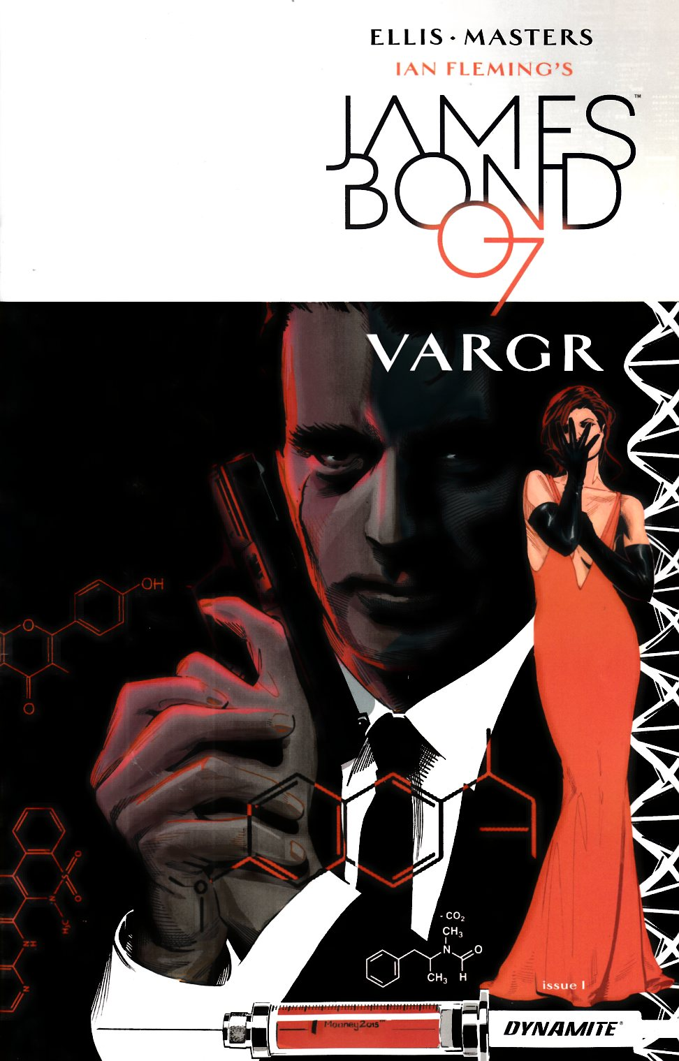 James Bond #1 Cover D- Mooney [Dynamite Comic]
