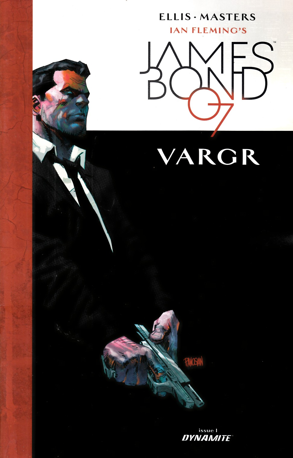 James Bond #1 Cover E- Panosian [Dynamite Comic]