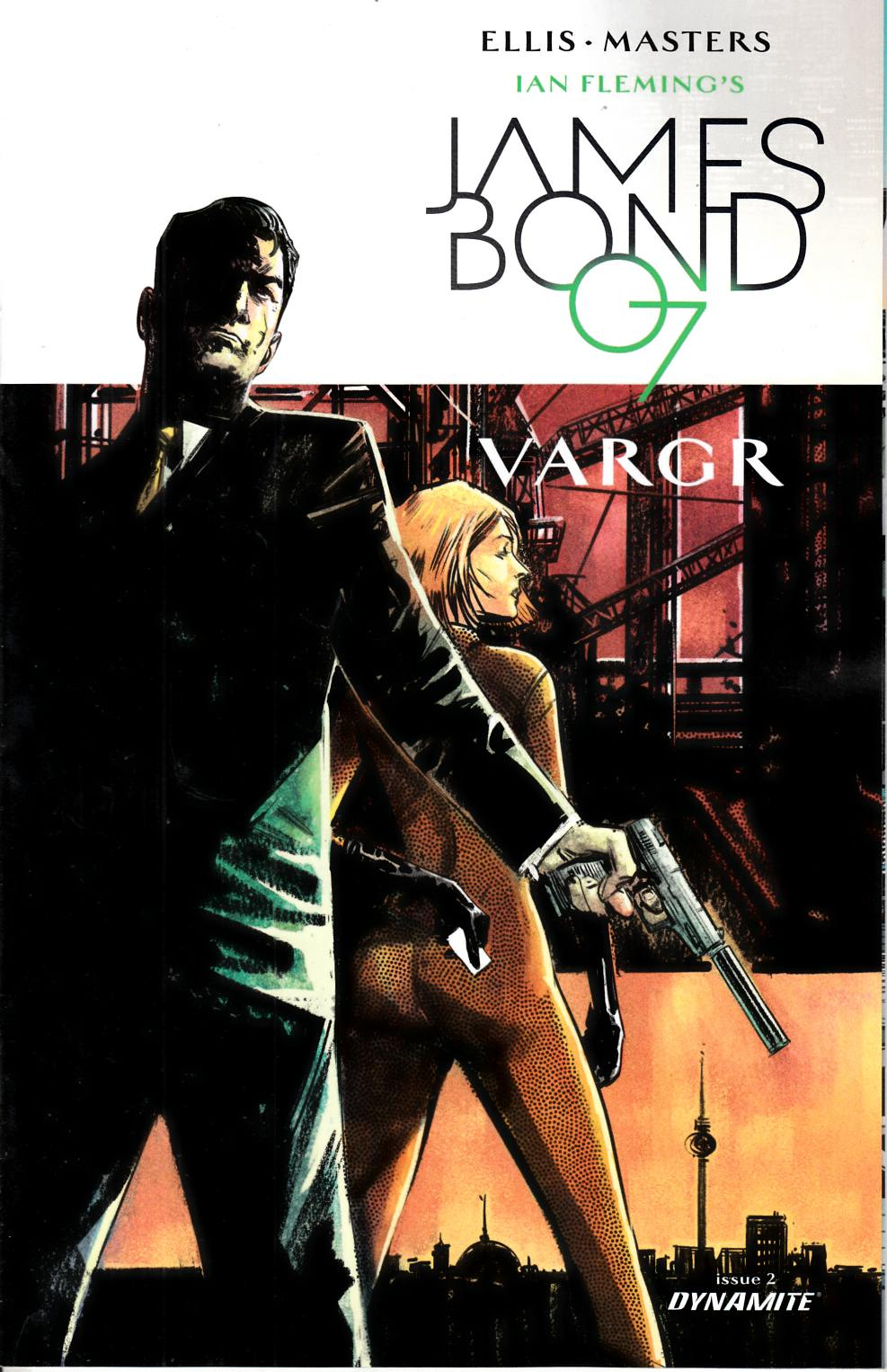 James Bond #2 Cover C- Hardman Incentive [Dynamite Comic]