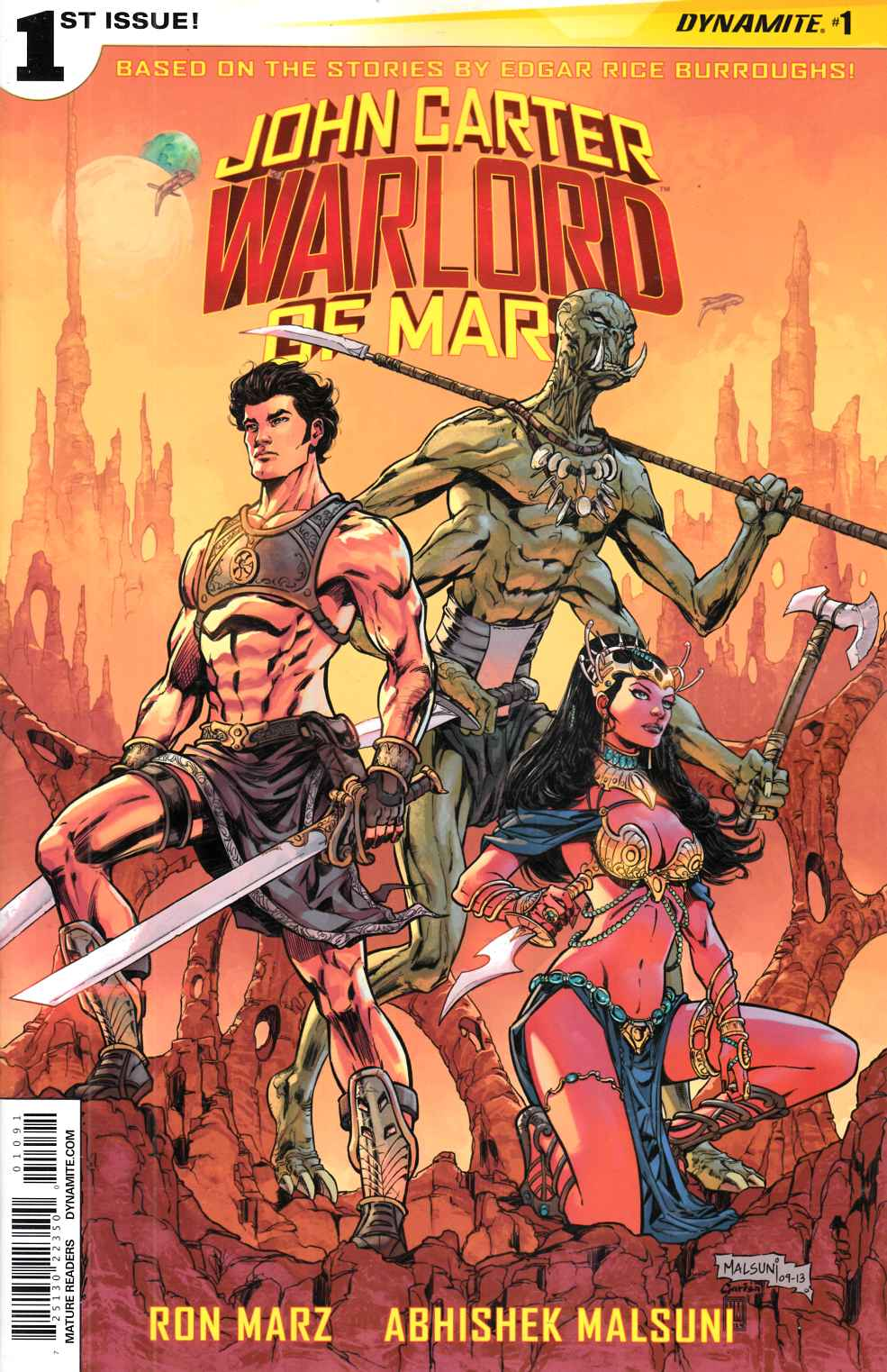 John Carter Warlord #1 Cover I- Malsuni Exclusive Incentive Cover [Comic]_THUMBNAIL