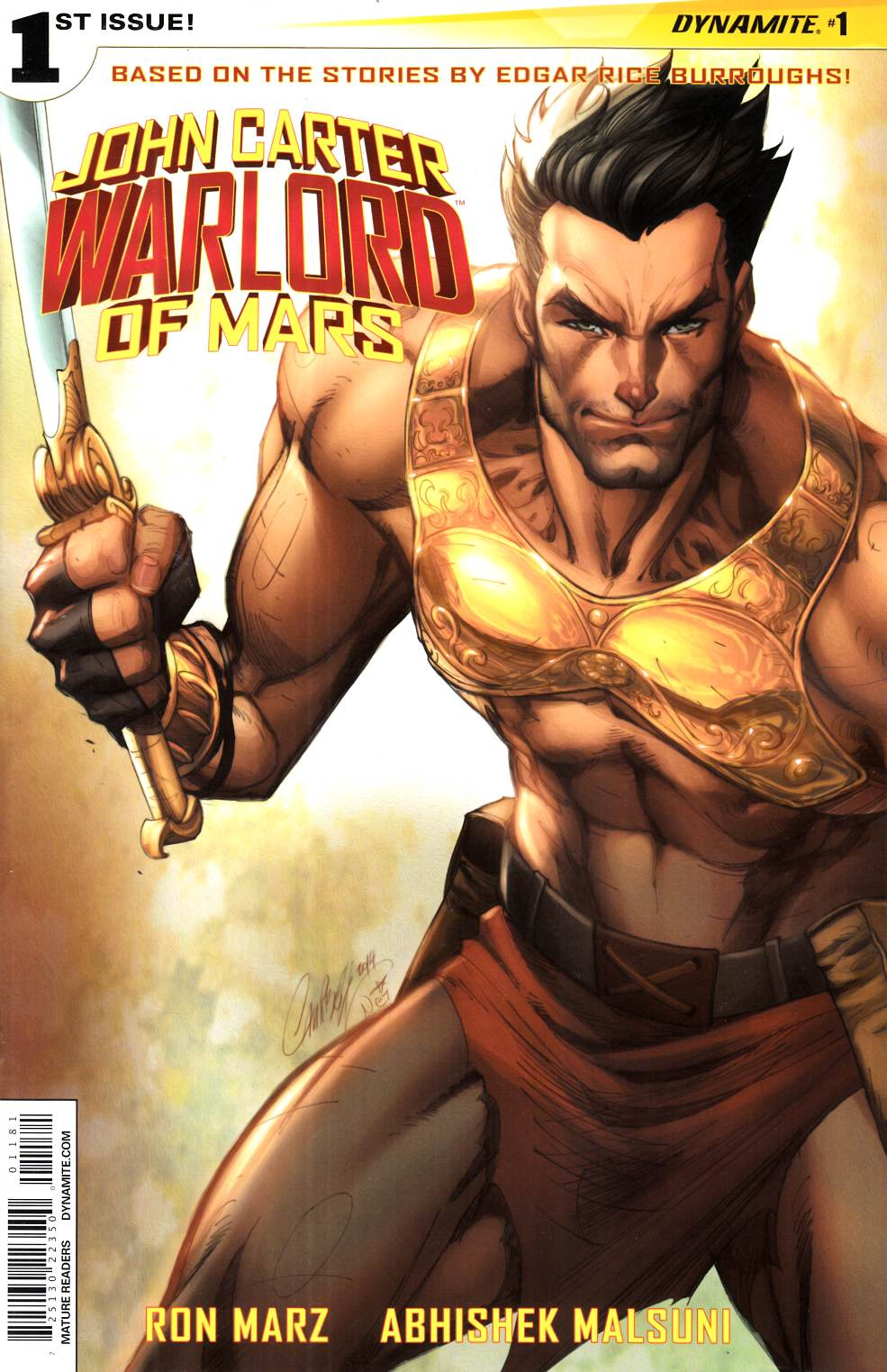 John Carter Warlord #1 Cover R- Rare Campbell Carter Solo Cover [Comic]_THUMBNAIL