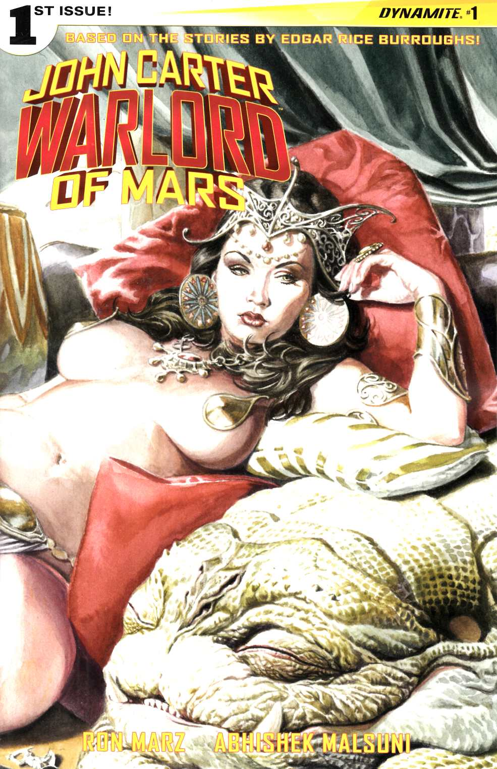 John Carter Warlord #1 Cover C- Jones Wraparound [Dynamite Comic]_THUMBNAIL
