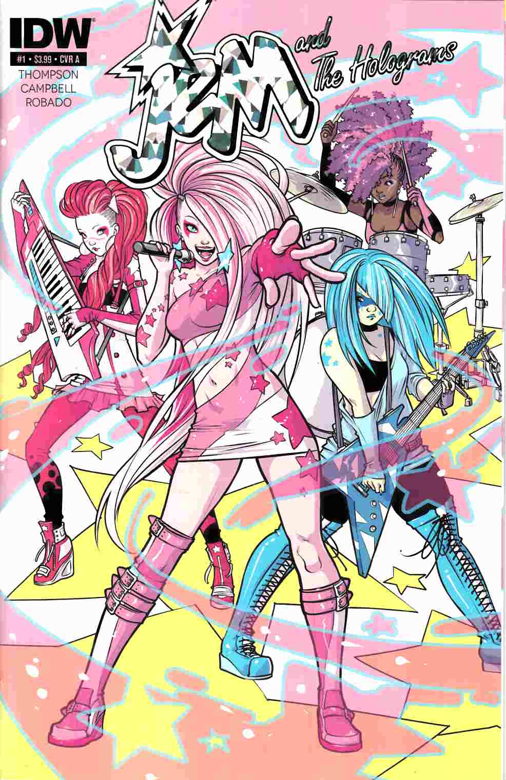 Jem & the Holograms #1 Cover A [IDW Comic]