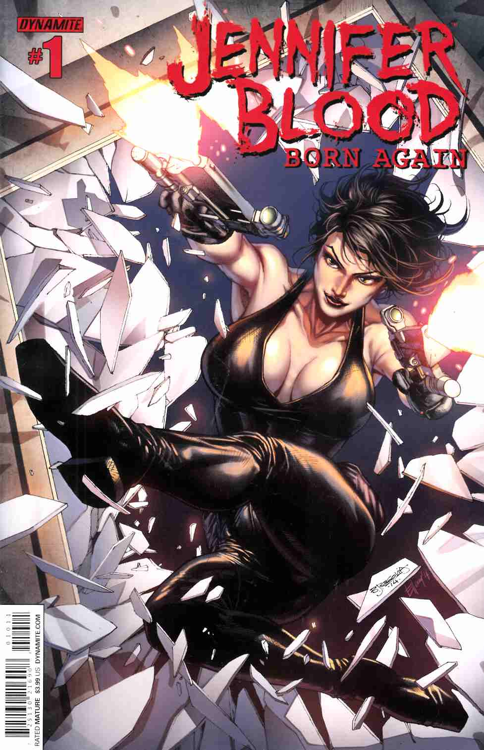 Jennifer Blood Born Again #1 [Dynamite Comic] LARGE