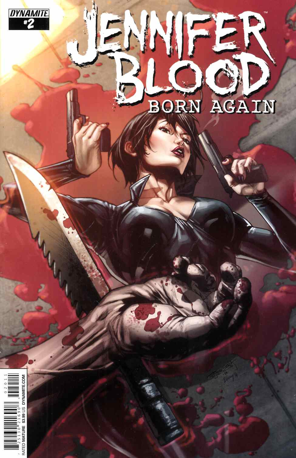 Jennifer Blood Born Again #2 [Comic] LARGE
