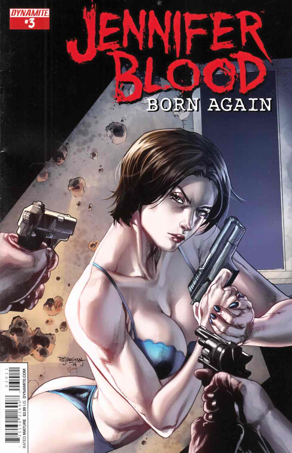 Jennifer Blood Born Again #3 [Comic] LARGE