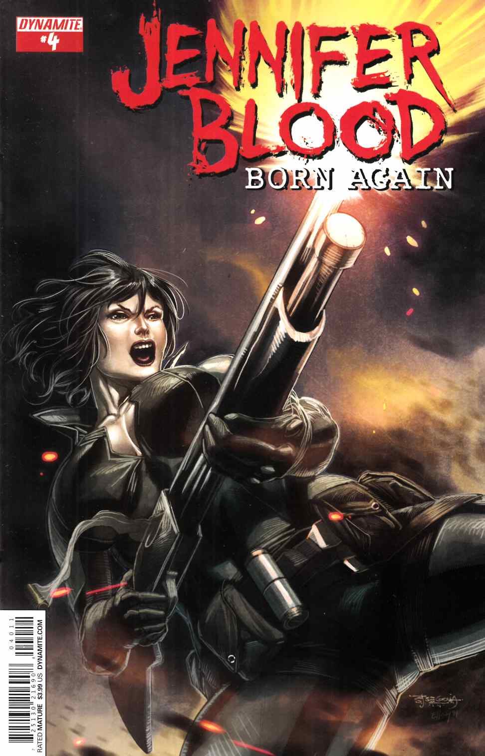 Jennifer Blood Born Again #4 [Dynamite Comic] THUMBNAIL