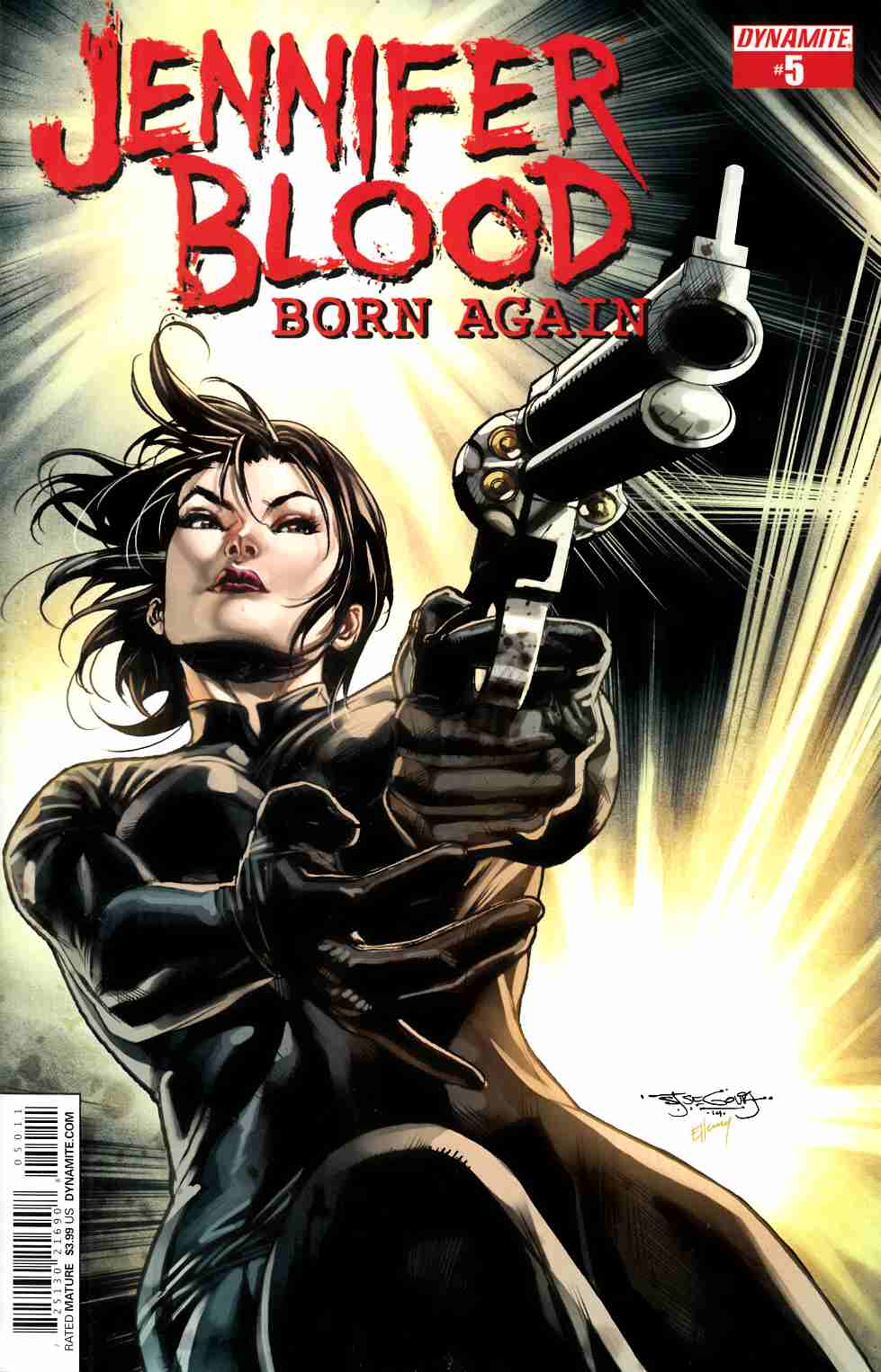 Jennifer Blood Born Again #5 [Dynamite Comic] THUMBNAIL