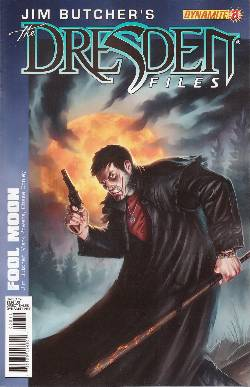 Jim Butcher Dresden Files Fool Moon #8 [Comic] LARGE