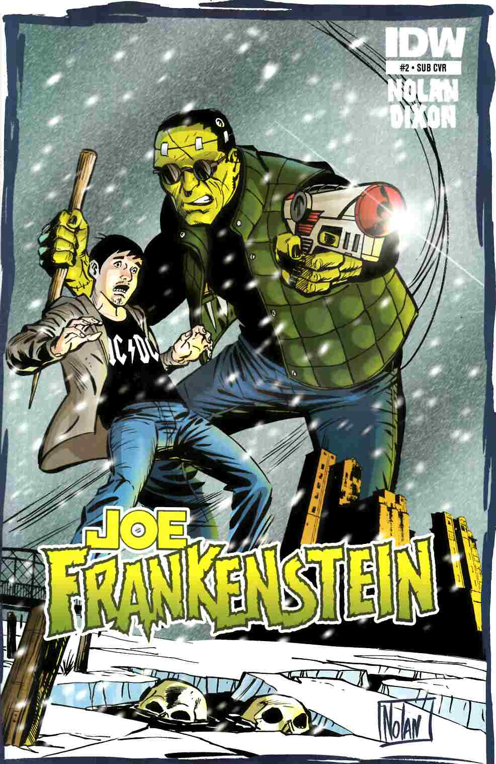 Joe Frankenstein #2 Subscription Cover [IDW Comic] THUMBNAIL
