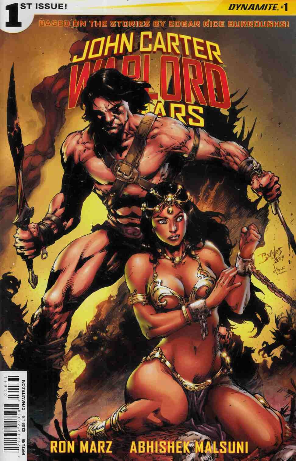 John Carter Warlord #1 Cover D- Benes [Dynamite Comic]
