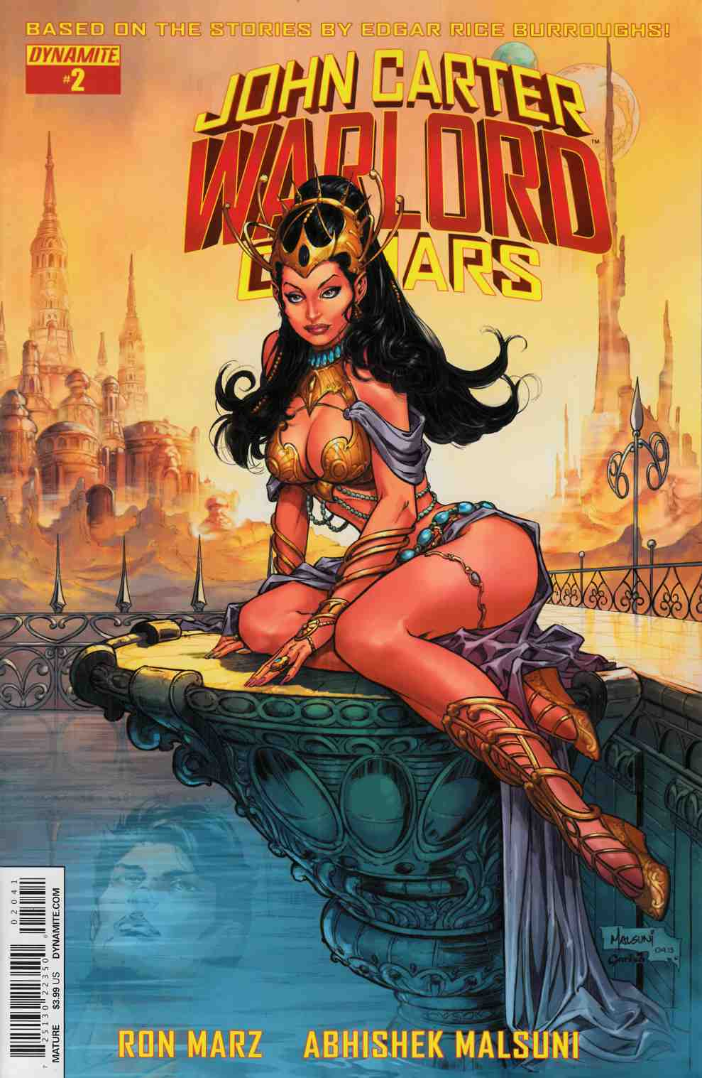 John Carter Warlord #2 Cover D- Subscription Cover [Dynamite Comic] THUMBNAIL