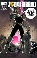Judge Dredd #15 Subscription Cover [IDW Comic] THUMBNAIL