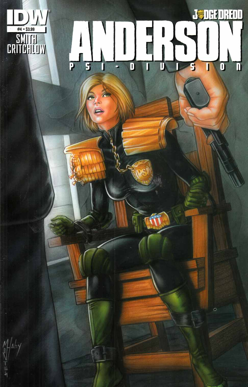 Judge Dredd Anderson Psi-Division #4 [IDW Comic] THUMBNAIL