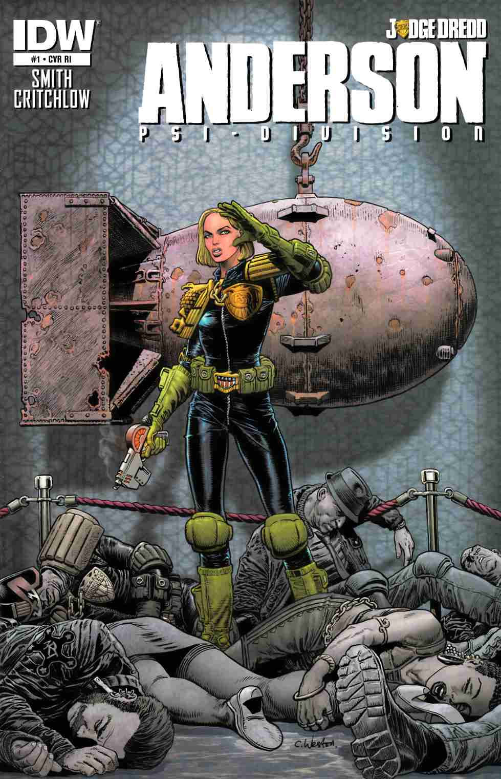 Judge Dredd Anderson PSI Division #1 Cover RI [Comic] THUMBNAIL