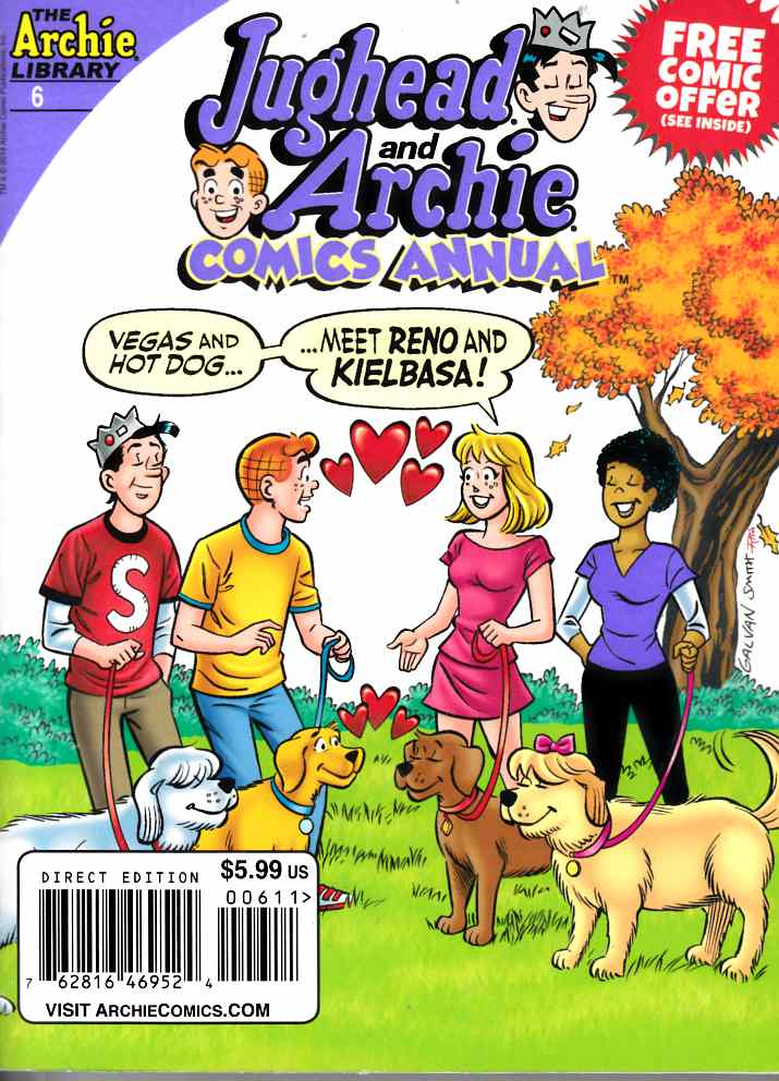 Jughead & Archie Comics Digest Annual #6 [Comic] THUMBNAIL