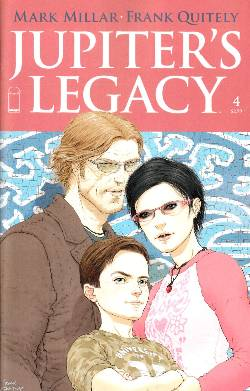 Jupiters Legacy #4 Cover A- Quitely [Comic] LARGE