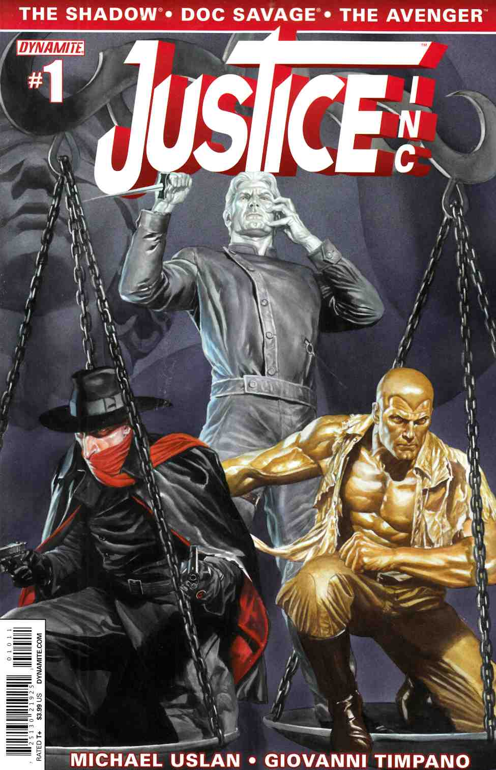 Justice Inc #1 Alex Ross Cover [Comic] THUMBNAIL