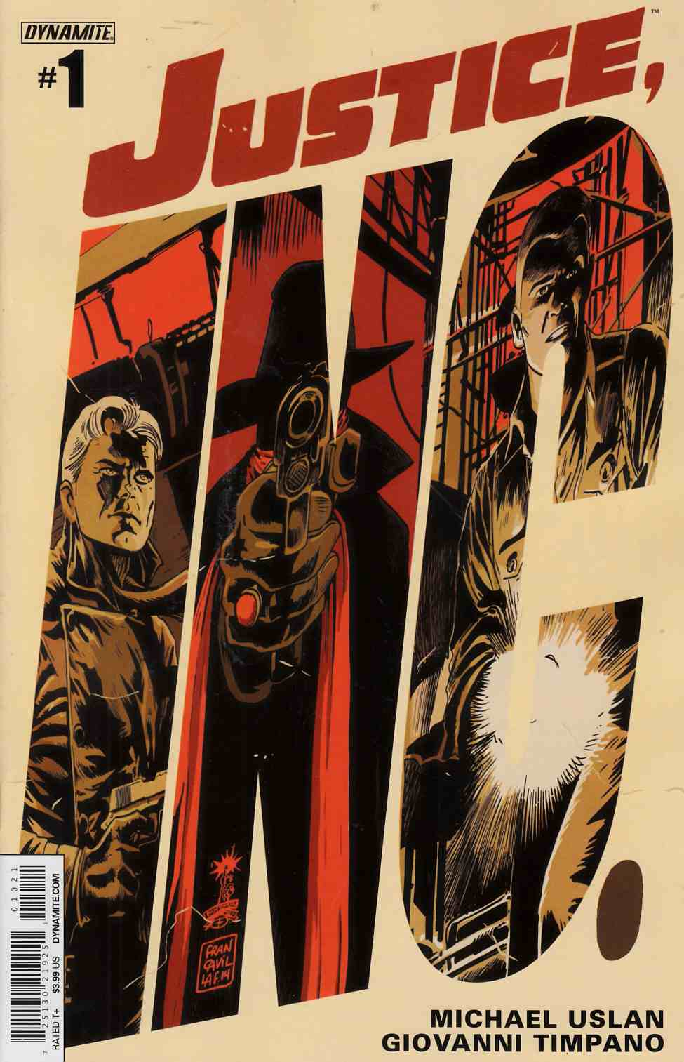 Justice Inc #1 Francavilla Cover [Comic] THUMBNAIL