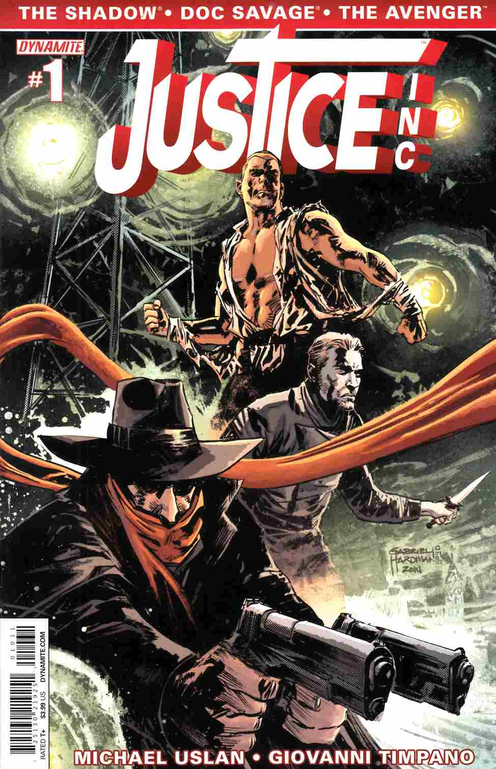 Justice Inc #1 Hardman Cover [Comic] THUMBNAIL