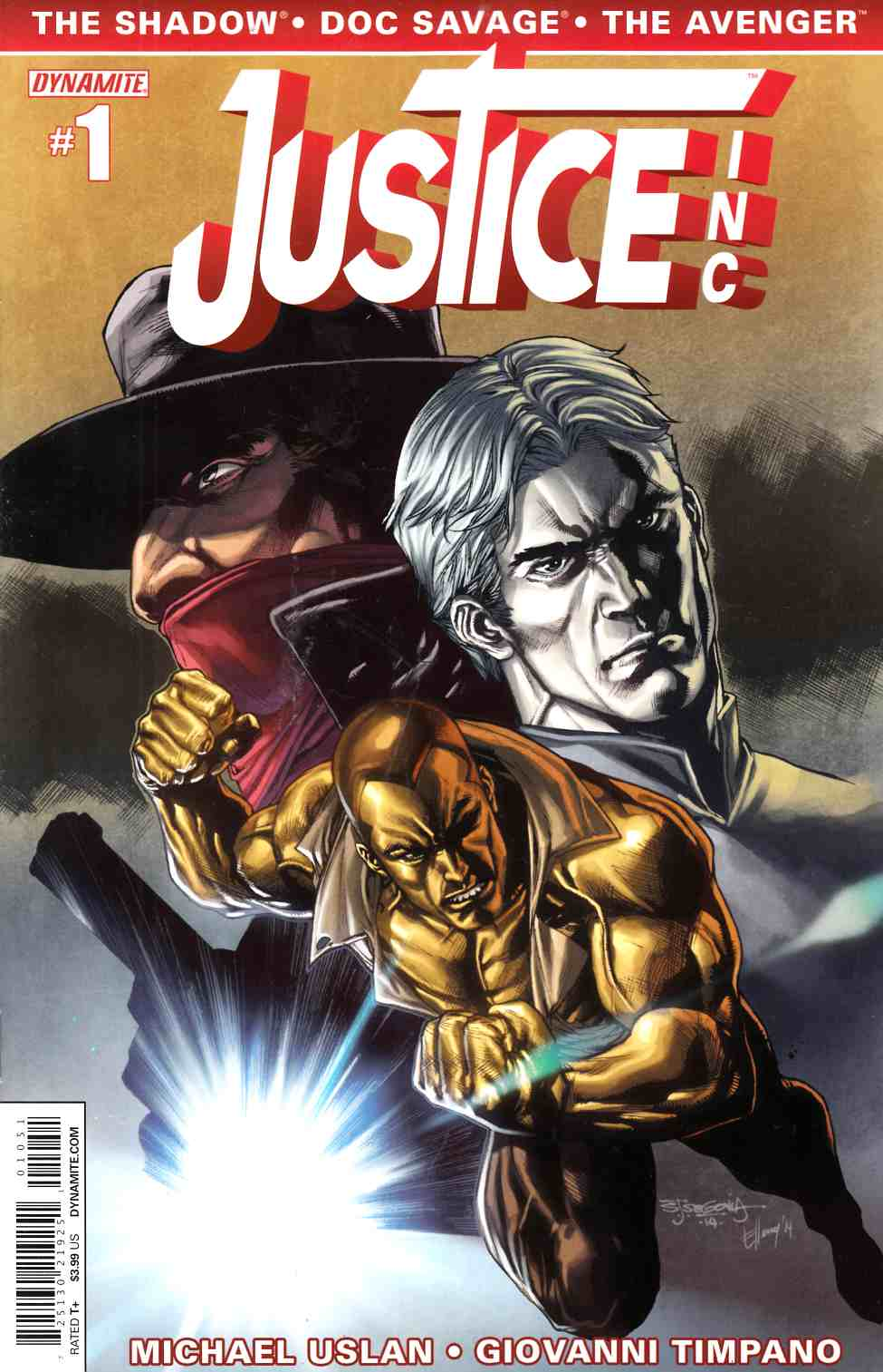 Justice Inc #1 Segovia Cover [Comic] THUMBNAIL